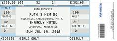Fake Ticket Generator