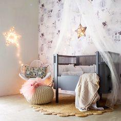 5 habitaciones de bebé románticas e inspiradas Check more at http://decoracionbebes.com/5-habitaciones-bebe-romanticas-e-inspiradas/