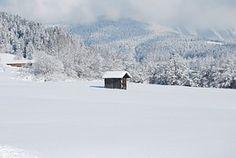 Kabine, Winter, Schnee, Bohrer, Natur