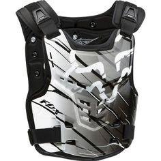 Fox Racing Proframe LC Future Men's Roost Deflector MX/Off-Road/Dirt Bike Motorcycle Body Armor - White/Black / Small/Medium Color: White/Black. Fox Racing Proframe LC Future MX/Off-Road/Dirt Bike Roost Deflector for Men. Dirt Bike Helmets, Dirt Bike Gear, Motorcycle Gear, Dirt Biking, Bmx, Motocross Gear, Fox Racing, Mountain Bike Shoes, Mountain Biking