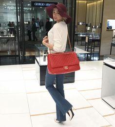 #FashionConfessions: New week, new CHANEL 👜❤️. #marinaberberyan
