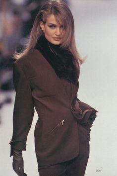 Karen Mulder. Dior