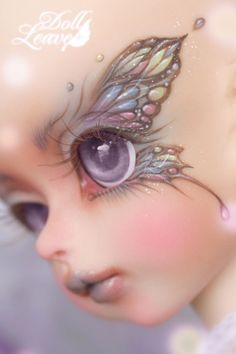 Doll Leaves 2 year anniversary special event head Babel. The faceup is just...yummy!
