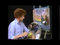 """""""Paint Me A Birmingham"""" to the painting of Bob Ross"""