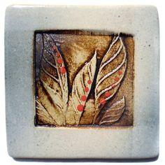 Leaves Tile by Dancing Eye Gallery, via Flickr