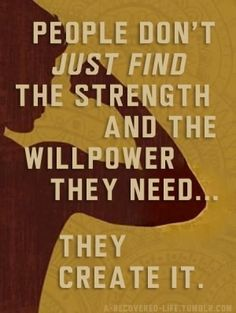 Willpower is like a muscle.  Gets stronger with use.