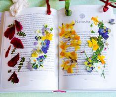 DIY Anleitung - Lesezeichen mit getrockneten Blumen basteln Easy Flower Crafts That Anyone Can Do Ar Creative Bookmarks, Diy Bookmarks, Flower Crafts, Diy Flowers, Diy Originales, Diy And Crafts, Paper Crafts, Cardboard Crafts, Fleurs Diy