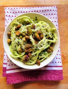 So lately I've beentrying to make quick and easy (and delicious, obv) lunches.I want to have healthy meals that are do-ableeven on the carziest day.This is as easy as it gets! This pesto is delicious and you can really put it on a ton of differentthings besides veggies noodles. It would be a wonderful addition ... Read more...