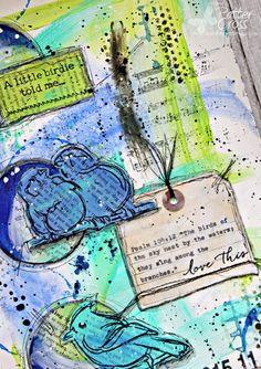 Triple the Scraps: An {Art Journaling} Challenge