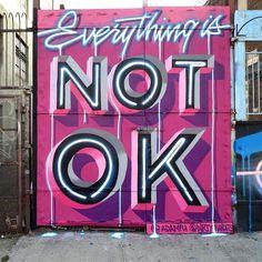 @adamfu & @dirtybandits Bushwick New York USA  _______________________ #madstylers #art #style #colorful #mural #stylewriting #streetart #sprayart #graffitiart