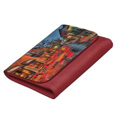 Street Reflections Leather Wallets