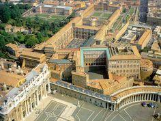 The Apostolic Palace  The Vatican, Italy