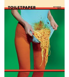 Edited by Maurizio Cattelan, Pierpaolo Ferrari.Toilet Paper is an artists' magazine created and produced by Maurizio Cattelan and Pierpaolo Ferrari, born out of a passion or obsession they both cultivate: images. The magazine contains no text; Pape Jean Paul Ii, Paper Magazine, Tableaux Vivants, Grafik Design, Editorial Design, Oeuvre D'art, Cover Design, Set Design, Art Direction