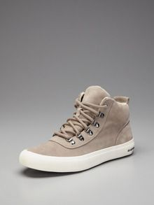 Suede Leather Hiker Boots