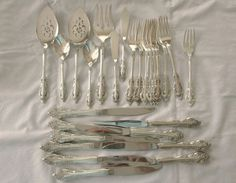 Oneida Community Silver Artistry Silverplate Flatware 26 Pieces in Collectibles, Kitchen & Home, Tableware | eBay