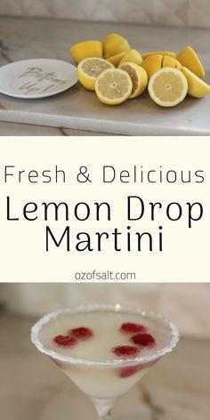The Perfect Lemon Drop Cocktail Create a summer favorite. Lemon Drop Martini Recipe for the aspiring mixologist. Lemon Drop Martini, Lemon Drop Cocktail, Summer Mixed Drinks, Easy Mixed Drinks, Healthy Mixed Drinks, Vodka Mixed Drinks, Bourbon Drinks, Easy Alcoholic Drinks, Drinks Alcohol Recipes