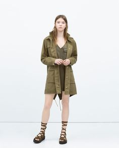 FAUX LEATHER DRESS-Dresses-TRF | ZARA United States