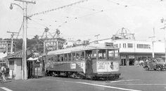 SF Muni 1955-Sept - B Geary car 73 at Playland (all gone)   Flickr - Photo Sharing!