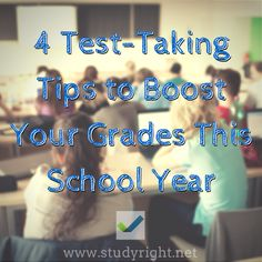 4 Test-Taking Tips to Boost your Grades