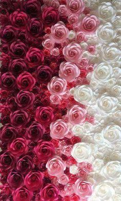 Colorful Flower Wall For Wedding Photography Backdrop Large Paper Flowers Paper Flower Backdrop Giant Paper Flower Phone Wallpaper, Cellphone Wallpaper, Flower Wallpaper, Iphone Wallpaper, White Roses Wallpaper, Flowers Nature, Pretty Flowers, Flower Backgrounds, Wallpaper Backgrounds