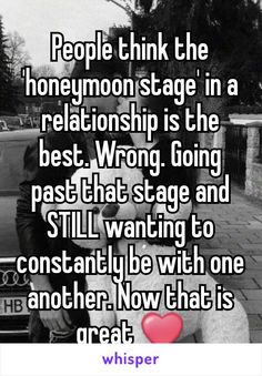Whisper App. Confessions on what happens after the honeymoon stage of a relationship.