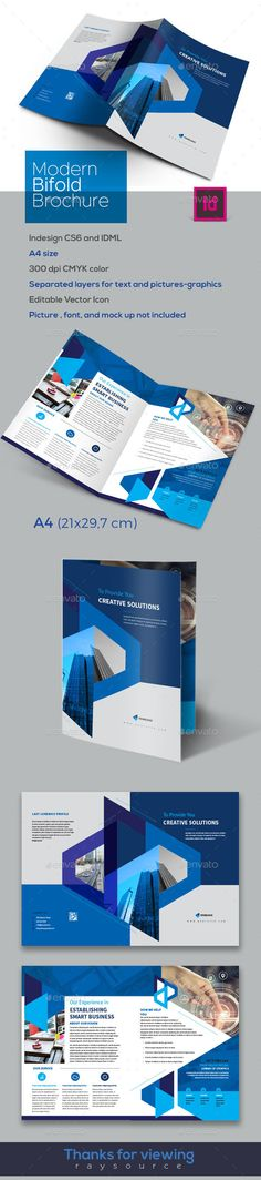Creative #Bifold #Brochure - Brochures Print Templates