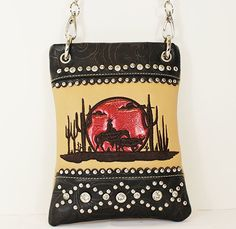 025d2b4bd41 Cowboy   Sunset Mini Bag Stripe Print, Wholesale Handbags, Mini Bag, Cross  Body