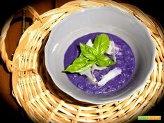 Crema di crauti rossi e Raspadura  #ricette #food #recipes