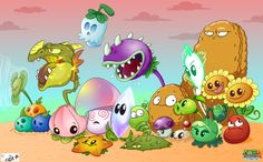 Punny Sunny - Plants vs Zombies - 3 by Nestly on DeviantArt Plantas Versus Zombies, P Vs Z, Plants Vs Zombies 2, Plant Zombie, Butterfly Party, Happy B Day, Funny Comics, Chibi, Pikachu