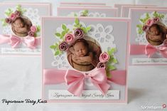 Invitation Cards, Invitations, Baby Cards, Card Making, Frame, How To Make, Scrapbooking, Instagram, Paper