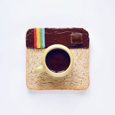 Improve your icon set with a piece of Instagram toast..