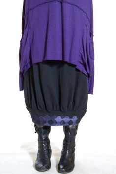 Organic Cotton Oval Skirt Printed : Blue Fish Clothing   Kohl size 2 to go with the african purple top