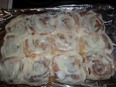 FoodThoughtsOfaChefWannabe: Not your mom's CINNAMON ROLLS!