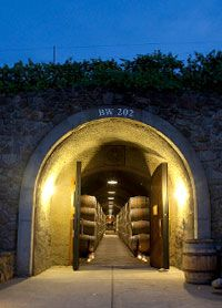 Entrance to Kunde Winery barrel aging caves  #kundefamilyestate #eventvenue #sonomavalley