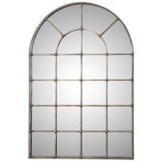 Uttermost Barwell Arch Window Mirror 12875