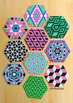 Evie saved to bar ideasGift idea: coasters to offer in Hama pearls - - Evie sav. - Evie saved to bar ideasGift idea: coasters to offer in Hama pearls – – Evie saved to bar ideas - Perler Bead Designs, Perler Bead Templates, Hama Beads Design, Melty Bead Designs, Hama Beads Coasters, Diy Perler Beads, Perler Bead Art, Pearler Beads, Perler Coasters