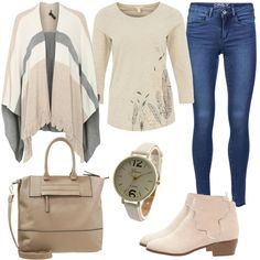 Beige Time by FrauenOutfits