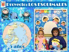 Resultado de imagen de proyecto esquimales infantil