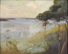 Sydney Long - Australian - Art Nouveau and Symbolist painter Australian Artists, Classic Art, Art Painting, Australian Art, Painting, Australian Painting, Art, Abstract, Seascape Paintings