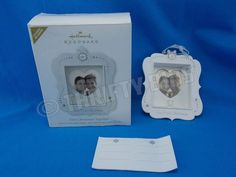 Hallmark Keepsake Ornament 2011 OUR FIRST CHRISTMAS TOGETHER Photo Holder NEW