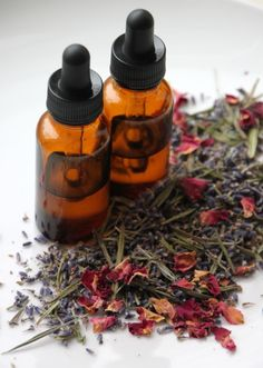 Just in Time for Valentine's Day, Make Your Own Essential Oils --> http://www.hgtvgardens.com/crafts/make-your-own-essential-oils?soc=pinterest