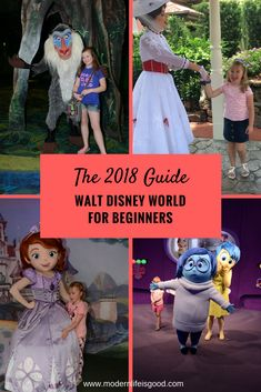 Walt Disney World for Beginners. Our updated guide to Walt Disney World for 2018. An essential guide to both First Time and Repeat visitors to Walt Disney World Orlando. Learn about all the theme parks & resorts plus find essential information to plan your vacation.