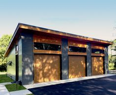 Trendy Ideas For Modern House Plans : – Picture : – Description Architectural Designs 3 Car Modern Garage Plan gives you over sq. Where do YOU want to build? 3 Car Garage Plans, Garage Ideas, Detached Garage Plans, Garage Building Plans, Garage Workshop Plans, Garage Roof, Dream Car Garage, Garage Kits, Shed Siding Ideas