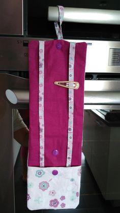 Tuto pochette à barrettes avec une poche pour les chouchous - Nadiaspeedychef