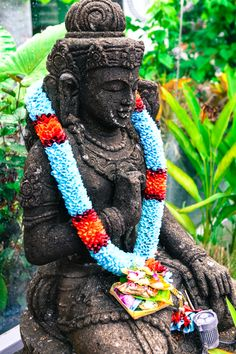 Bless the Budha in Bali