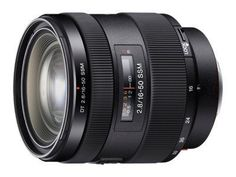 Sony 16-50mm f/2.8 Standard Zoom Lens (24-75mm equivalent) for Sony A-Mount Cameras