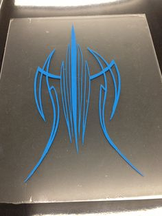 Pinstriping by J.Hutson...Practice panel