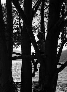 #girl #tree #thinking #vacation
