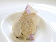 Risotto de piñones con trufa blanca