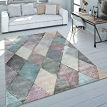 Norden Home Shaggy-Teppich Glover in Rosa Pink And Blue Rug, Pink Rug, Shabby Chic Design, Luminous Colours, Machine Made Rugs, Home Rugs, Contemporary Rugs, Rugs In Living Room, Bedroom Rugs